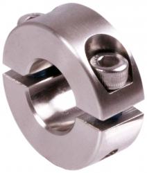 Osztott szorítógyűrű, rozsdamentes acél