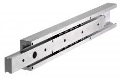 Alumínium vezetősín, DA 4120, szélesség 36 mm , max 500 kg, részleges kinyúlás