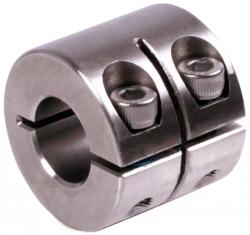 Hasított szorítógyűrű, széles, rozsdamentes acél