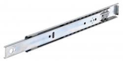 Golyós vezetősín, DZ 0204 szélesség: 9,5 mm , max 59 kg kinyúlás: 3/4
