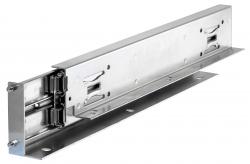 Golyós vezetősín, DZ 0522 típus, 26.5mm széles, max 180 kg, megnövelt kinyúlás