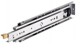 Golyós vezetősín, DZ 9308, szélesség: 19.1 mm , max 227 kg teljes kinyúlás, reteszelhető