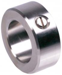 Rögzítőgyűrű DIN 705 A, rozsdamentes acélcsavarral