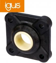 Flange block bearing igus igubal EFSM-08   4 mounting holes   bore 8mm