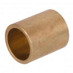 Bush similar to DIN 1850 J (DIN 4379 C)   sintered bronze   borehole 6mm   outer diameter 12mm   length 6mm
