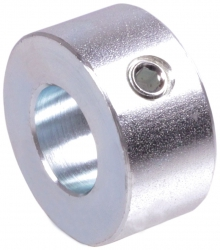 Adjusting ring DIN 703   allen set screw 12.9   bore 25mm   zinc plated